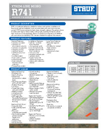 Graphic: Sell Sheet for Wood Flooring Adhesive WFR-930